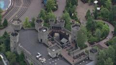 Legoland aerial Stock Footage
