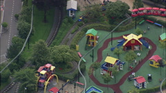 Legoland Rides Stock Footage