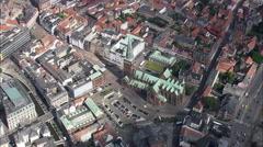 Aarhus aerial Stock Footage