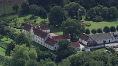 Manor House Near Logten Stock Footage