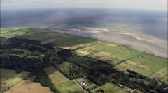 The Coast Between Voersa And Korrebaek Stock Footage