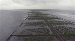Mando aerial Stock Footage
