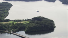 Mohne Reservoir Stock Footage