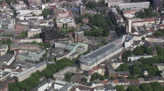 Dortmund aerial Stock Footage
