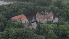 Burg Vischering Stock Footage