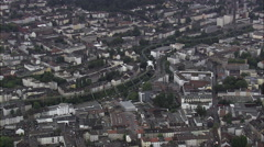 Wuppertal Suspension Railway Stock Footage
