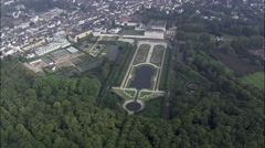 Augustusburg Palace Garden Stock Footage