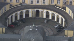 Poppelsdorf Palace Stock Footage