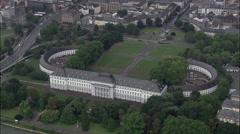 Koblenz aerial Stock Footage