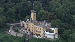 Stolzenfels Castle Stock Footage