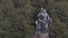 Niederwalddenkmal Monument Stock Footage