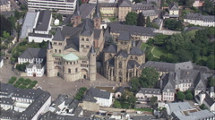 Trier Cathedral And The Church Of Our Lady Stock Footage
