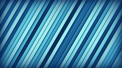 Blue lines 3D render loopable animation 4k UHD (3840x2160) Stock Footage
