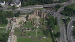 Trier aerial Stock Footage