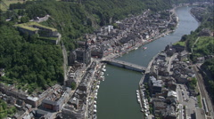 Dinant Castle Stock Footage
