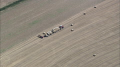 Farming aerial Stock Footage