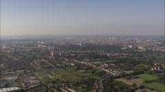 Antwerp aerial Stock Footage