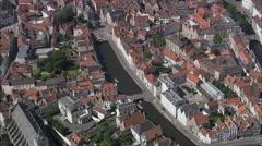 Bruges Waterways Stock Footage