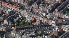 Amiens aerial Stock Footage