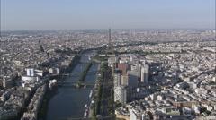Seine River Stock Footage