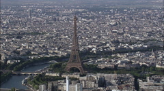 Eiffel Tower Stock Footage