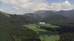 Auritz On Pilgrimage Route To Santiago De Compostela Stock Footage