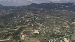 La Rioja Vineyards Stock Footage