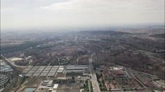 Burgos aerial Stock Footage