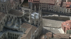 Burgos Cathedral Stock Footage