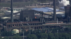 Aviles Steel Works Stock Footage