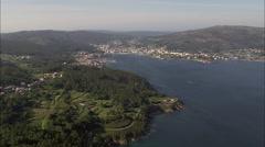 Cee aerial Stock Footage