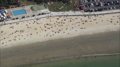 Beaches At Vigo Stock Footage