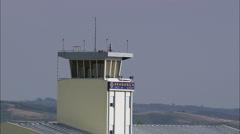 Braganca Airport Stock Footage