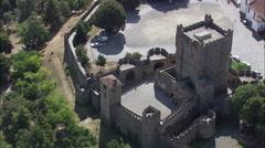 Braganca Castle Stock Footage
