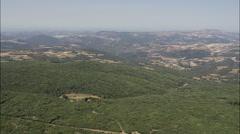 Landscape Villages Stock Footage