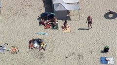 Esposende aerial Stock Footage