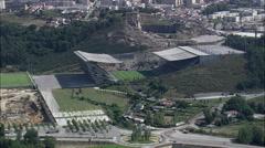 Braga aerial Stock Footage