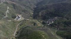 Piodao aerial Stock Footage