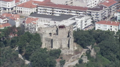 Pombal Castle Stock Footage