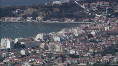 Passing Soa Martinho Do Porto Stock Footage