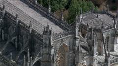 Monastery Of Batalha Stock Footage
