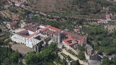 Tomar Castle Stock Footage