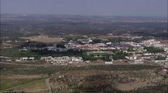 Villa Vicosa Stock Footage