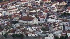 Elvas aerial Stock Footage