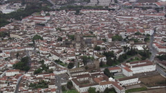 Evora aerial Stock Footage