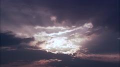 Sunset aerial Stock Footage