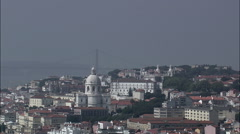 National Pantheon And Church Of St Vicente De Fora Stock Footage