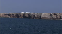 Sagres Fortress Stock Footage