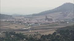 Calanas aerial Stock Footage