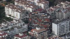 Marbella aerial Stock Footage